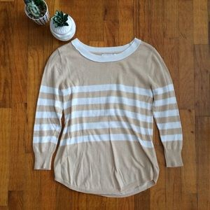 Forever 21 Striped Light Sweater